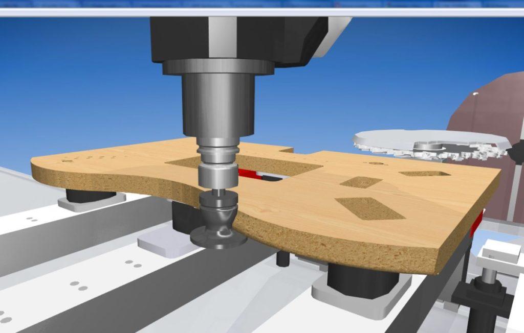 COBUS NCAD - symulacja 3D